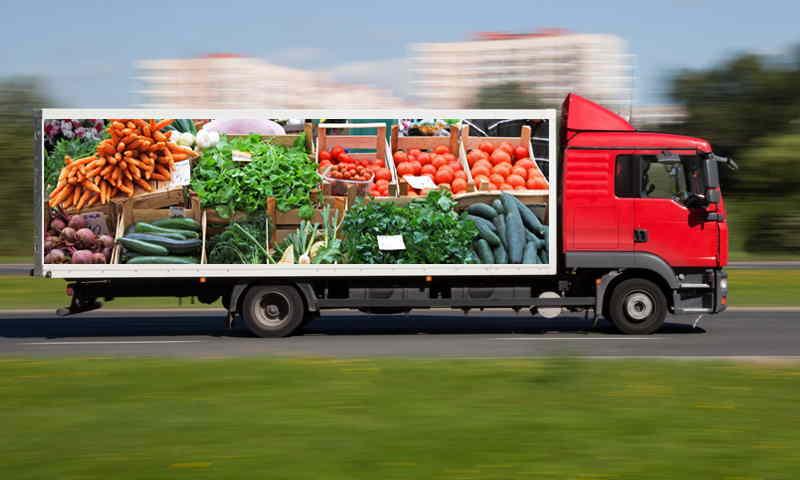 Транспортная компания перевезти продукты питания